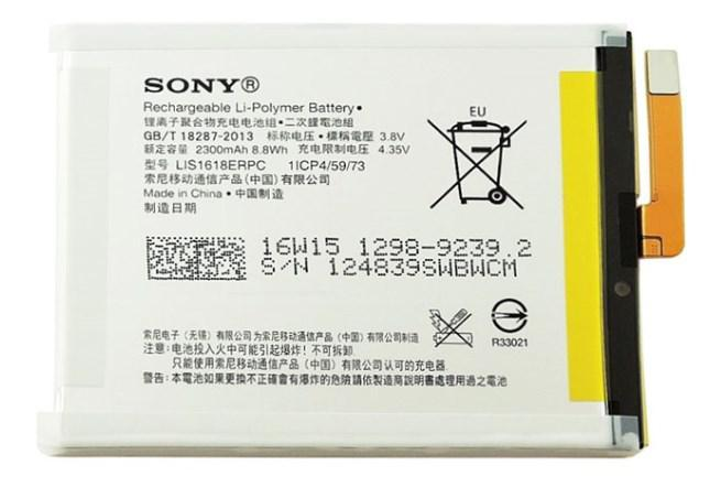 Заводской аккумулятор для Sony Xperia XA F3111/ F3112 (LIS1618ERPC, 2300 mah)