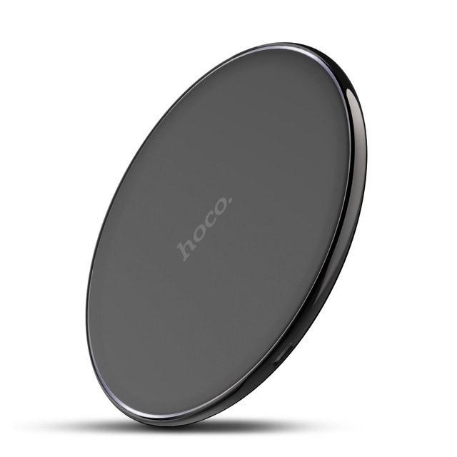 Беспроводное зарядное устройство Hoco CW6 для Samsung Galaxy S8 Plus G955F (черный) - фото 2