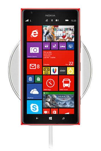 Беспроводная зарядка для Nokia Lumia 1520 (белый)