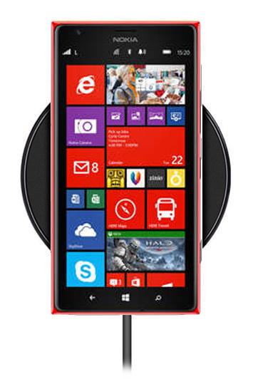 Беспроводная зарядка для Nokia Lumia 1520 (черный)