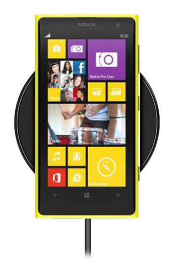 Беспроводная зарядка для Nokia Lumia 1020 (черный)