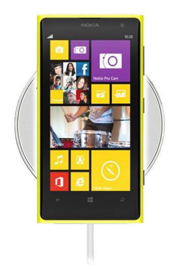 Беспроводная зарядка для Nokia Lumia 1020 (белый)