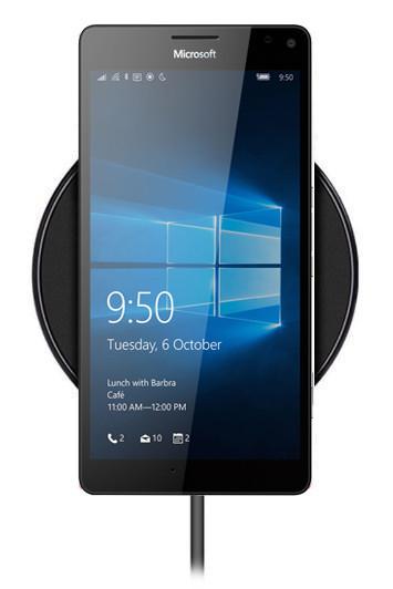 Беспроводная зарядка для Nokia Lumia 950 XL (черный)
