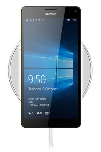 Беспроводная зарядка для Nokia Lumia 950 XL (белый)
