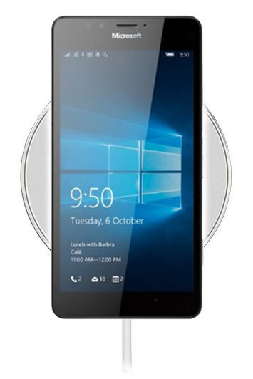 Беспроводная зарядка для Nokia Lumia 950 (белый)