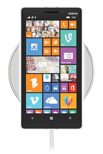 Беспроводная зарядка для Nokia Lumia 930 (белый)