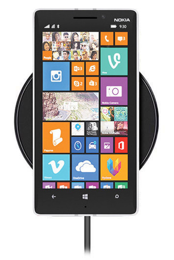 Беспроводная зарядка для Nokia Lumia 930 (черный)