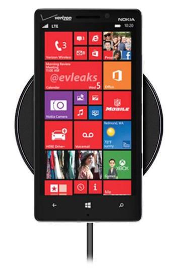 Беспроводная зарядка для Nokia Lumia 929 (черный)