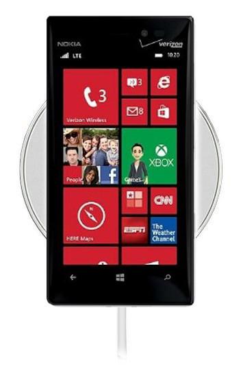 Беспроводная зарядка для Nokia Lumia 928 (белый)