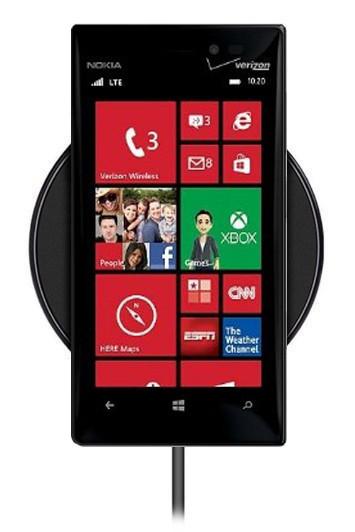 Беспроводная зарядка для Nokia Lumia 928 (черный)