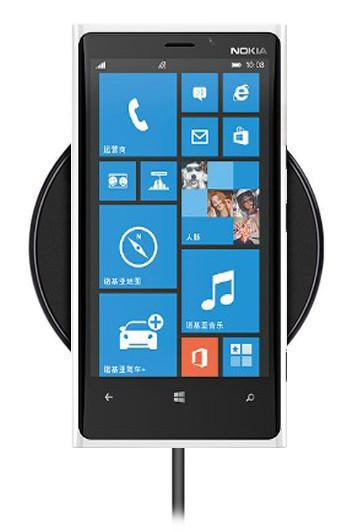 Беспроводная зарядка для Nokia Lumia 920T (черный)