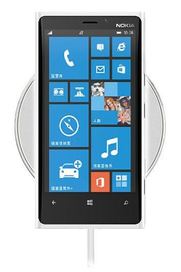 Беспроводная зарядка для Nokia Lumia 830 (белый)