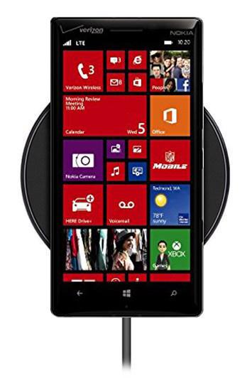 Беспроводная зарядка для Nokia Lumia Icon (черный)