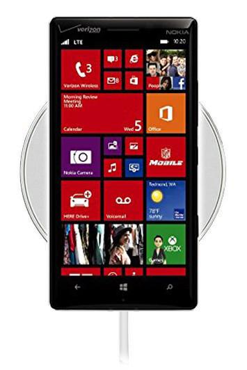 Беспроводная зарядка для Nokia Lumia Icon (белый)