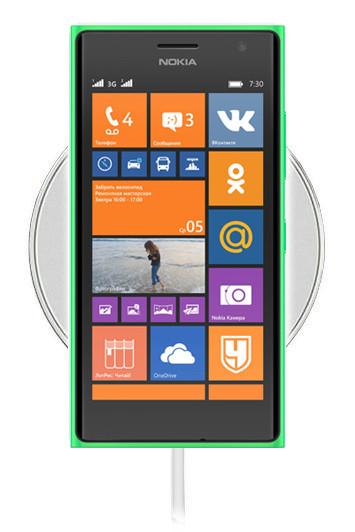 Беспроводная зарядка для Nokia Lumia 730 (белый)