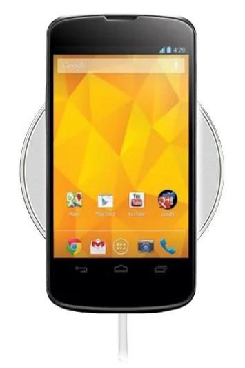 Беспроводная зарядка для Google Nexus 4 (белый)