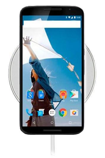 Беспроводная зарядка для Google Nexus 6 (белый)