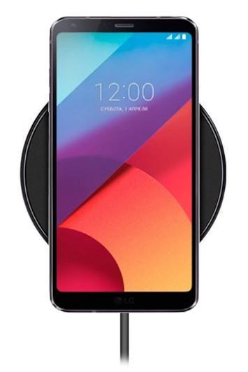 Беспроводная зарядка для LG G6 (черный)