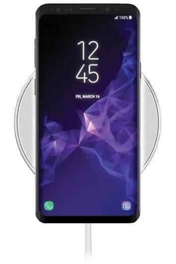 Беспроводное зарядное устройство Hoco CW6 для Samsung Galaxy S9 SM-G960 (белый)