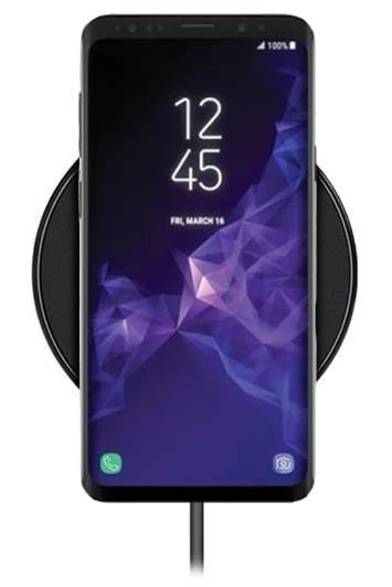 Беспроводное зарядное устройство Hoco CW6 для Samsung Galaxy S9 Plus SM-G965 (черный)