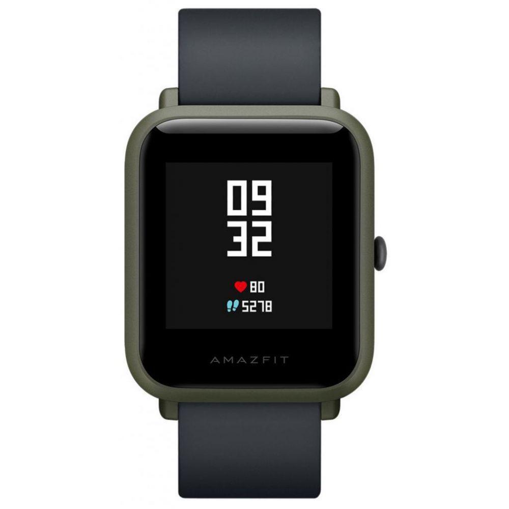 Смарт-часы Xiaomi Amazfit Bip (темно-зеленые)