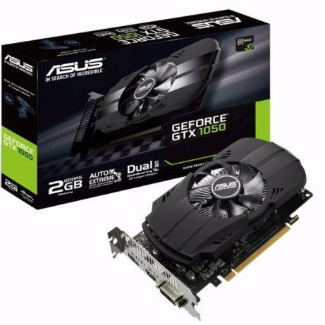 Видеокарта ASUS GeForce GTX1050 2GB 128bit GDDR5 1xHDMI 1xDVI-D 1xDisplay Port Phoenix PH-GTX1050-2G
