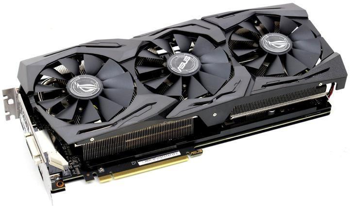 Видеокарта ASUS AMD Radeon RX VEGA 64 8GB 2048-bit 1xDVI 2xHDMI 2xDP ROG-STRIX-RXVEGA64-O8G-GAMING