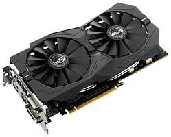 Видеокарта ASUS GeForce GTX1050Ti STRIX-GTX1050TI-O4G-GAMING 4GB 7008Mhz 128 bit DVIx2 HDMIx1 DPx1 7680x4320