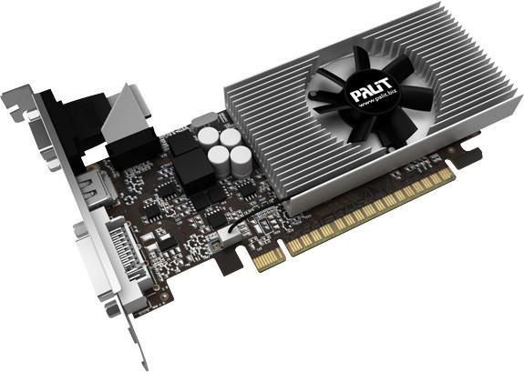 Видеокарта PALIT GT730 2Gb DDR3 64 bit DVI HDMI PA-GT730K-2GD3H