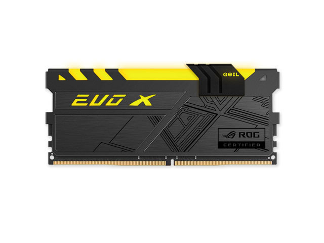 Оперативная память EVO X ROG SERIES 16GB Kit (2x8GB) GEIL DDR4 PC4-24000 3000MHz GREXR416GB3000C15ADC