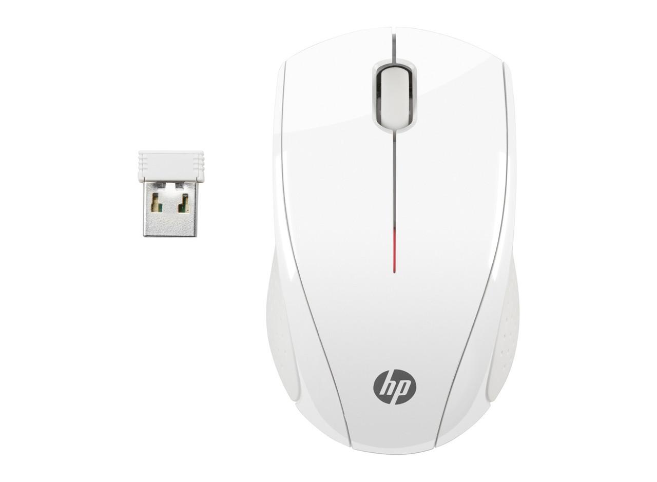 Беспроводная мышь HP N4G64AA X3000 White Wireless Mouse
