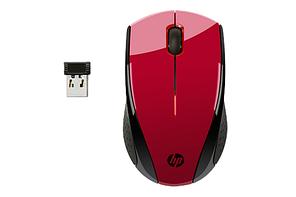 Беспроводная мышь HP N4G65AA X3000 Red BS Wireless Mouse