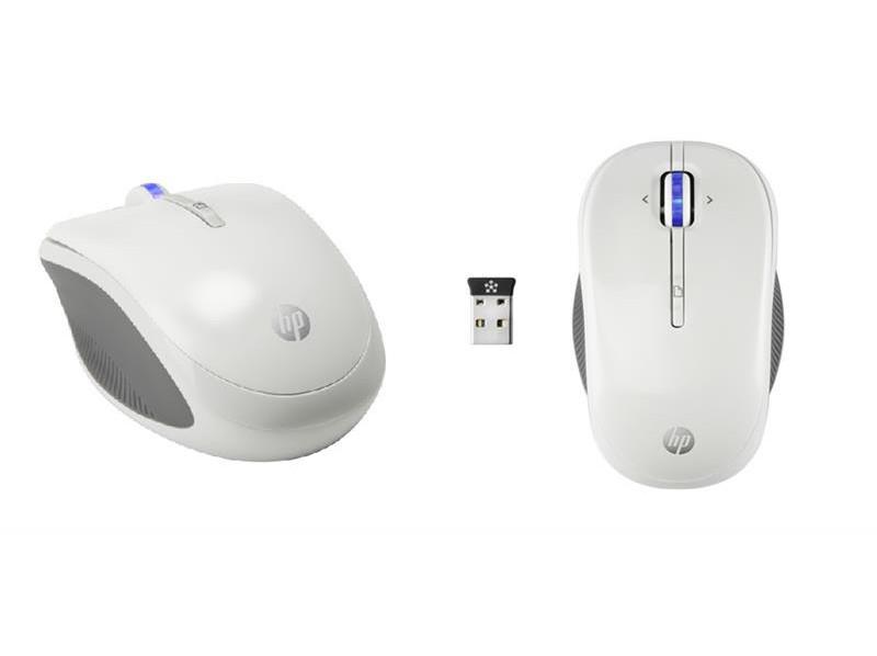 Оптическая светодиодная беспроводная мышь HP X3300 H4N94AA White