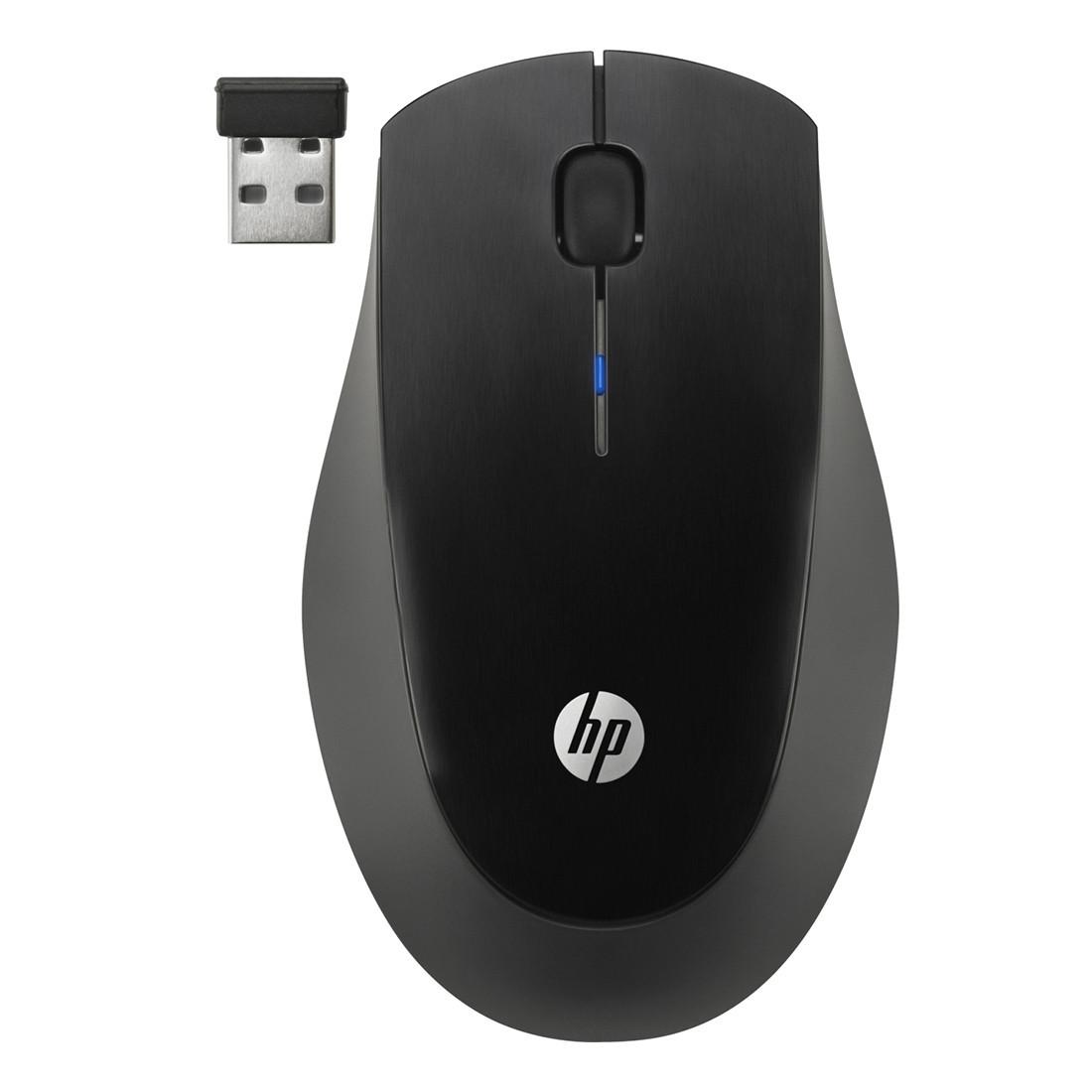 Беспроводная оптическая мышь HP X3900 Black