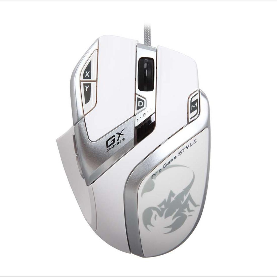 Оптическая мышка Genius DeathTaker White Edition