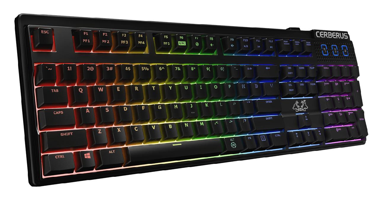 Игровая клавиатура ASUS CERBERUS MECH RGB BRN