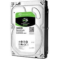"Жесткий диск HDD  500Gb Seagate BarraCuda SATA6Gb/s 7200pm 32Mb 3,5"" ST500DM009"