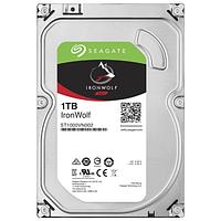"""Жесткий диск для NAS систем 1Tb HDD Seagate IronWolf SATA 6Gb/s 5900rpm 3.5"""" 64Mb ST1000VN002. Созданы и протестированы для систем NAS работающих"""