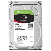 """Жесткий диск для NAS систем 3Tb HDD Seagate IronWolf SATA 6Gb/s 5900rpm 3.5"""" 64Mb ST3000VN007 Созданы и протестированы для систем NAS работающих"""