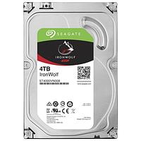 """Жесткий диск для NAS систем 4Tb HDD Seagate IronWolf SATA 6Gb/s 5900rpm 3,5"""" 64Mb ST4000VN008. Созданы и протестированы для систем NAS работающих"""