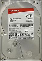 "Жесткий диск HDD 2Tb TOSHIBA SATA 6Gb/s 7200rpm 64Mb 3.5"" HDWD120UZSVA Bulk"