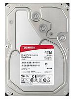 "Жесткий диск HDD 4Tb TOSHIBA X300 SATA 6Gb/s 7200rpm 128Mb 3.5"" HDWE140EZSTA Retail"