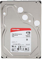 "Жесткий диск HDD 4Tb TOSHIBA X300 SATA 6Gb/s 7200rpm 128Mb 3.5"" HDWE140UZSVA"