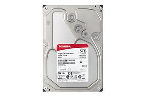 "Жесткий диск HDD 5Tb TOSHIBA X300 SATA 6Gb/s 7200rpm 128Mb 3.5"" HDWE150EZSTA Retail"