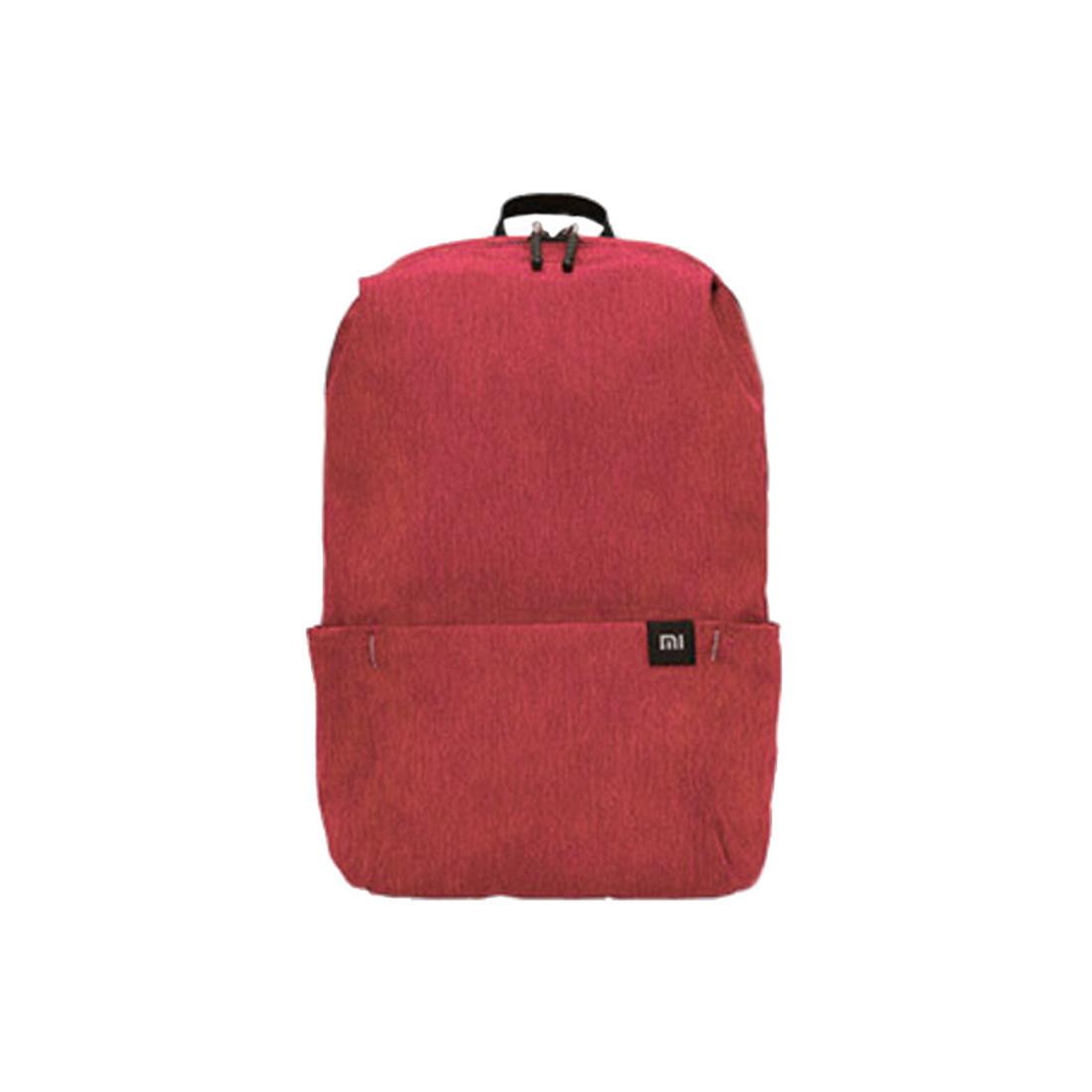 Рюкзак, Xioami, RunMi 90' Points Eight Colors ZJB4137 , 10 л, 34х22.5х13 см, Полиэфирное волокно, Красный