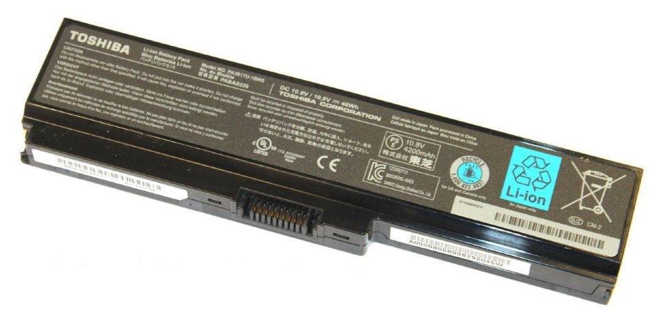Аккумулятор для ноутбука Toshiba C650, PA3817U-1BRS (10.8V 4400 mAh)