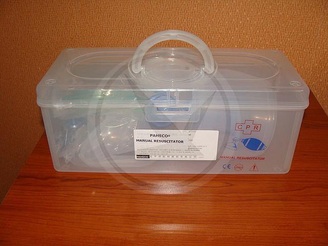 Набор ручной дыхательной реанимации (АМБУ) силиконовый - фото 3