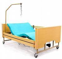 Кровать медицинская функциональная широкая (120) см, MET LARGO