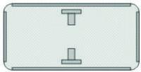 Жол белгілеріне арналған дайындама/ Заготовка для знаков