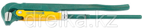 """Ключ KRAFTOOL трубный, тип """"PANZER-L"""", прямые губки, Cr-V сталь, цельнокованный, 1""""/330мм, фото 2"""
